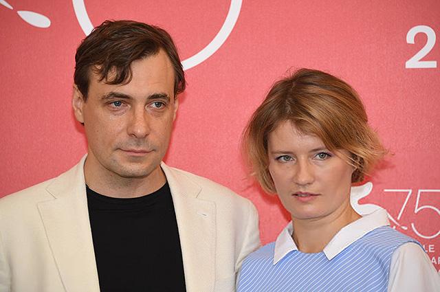126860 Юлия Снигирь поддержала Евгения Цыганова на Венецианском кинофестивале — 2018