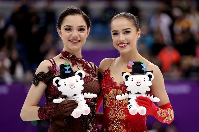 129554 Алина Загитова прошла в финал Гран-при по фигурному катанию, а Евгения Медведева — нет