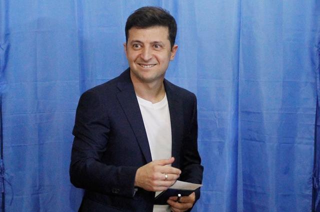 Владимир Зеленский стал новым президентом Украины