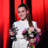 """133866 Дочь Алсу Микелла Абрамова впервые прокомментировала финал шоу """"Голос. Дети"""""""
