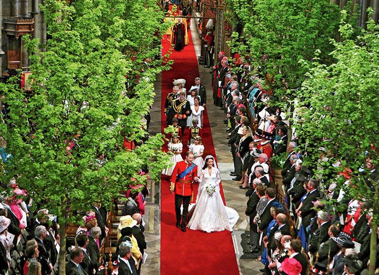 Вдохновляясь свадьбой Кейт Миддлтон: звездный декоратор об экологичном подходе к оформлению торжеств