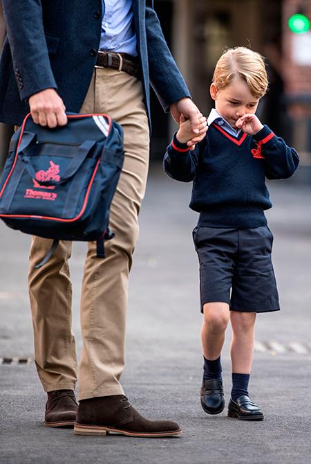 Снова в школу: что ждет принца Джорджа в новом учебном году
