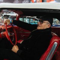 137734 Диана Арбенина, Анастасия Стоцкая с детьми и другие на празднике в честь Дня автомобилиста в Москве