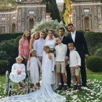 137204 Футболист Сергей Семак и его жена Анна сыграли свадьбу во второй раз