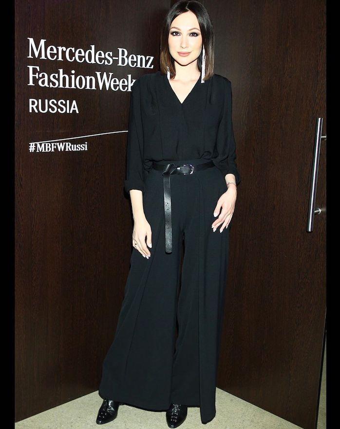 137524 Неделя моды в Москве: как одевались звезды на Mercedes-Benz Fashion Week