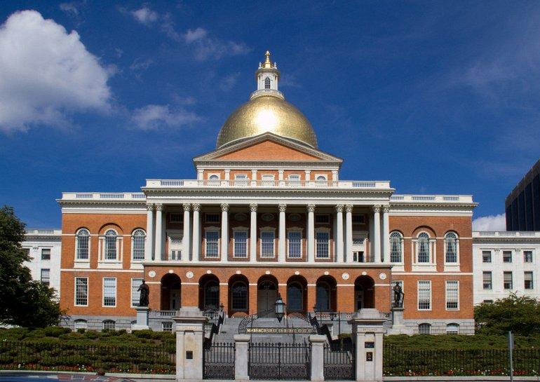 137908 Капитолий штата Массачусетс в Бостоне
