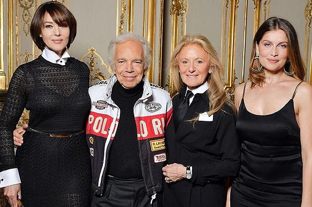 138153 Моника Беллуччи, Летиция Каста, Изабель Аджани и другие гости на премьере фильма о Ральфе Лорене в Париже