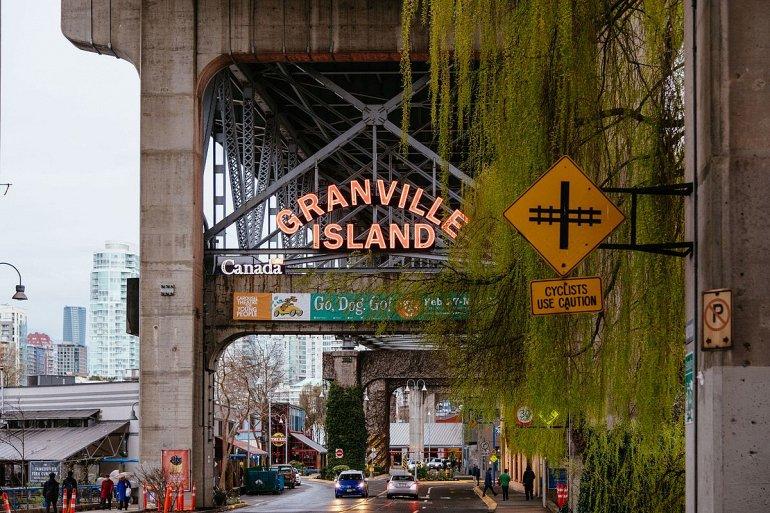 138349 Остров Грэнвилл у побережья Ванкувера