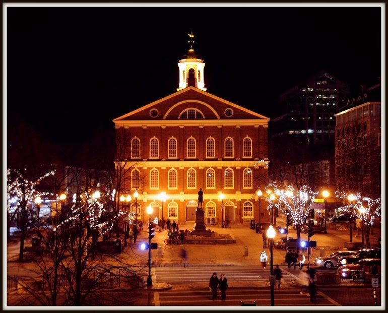 138768 Фанейл-Холл. Историческое сооружение в Бостоне