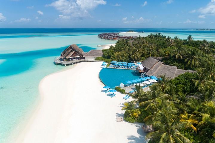 мальдивский берег