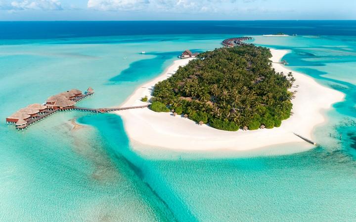 144084 Частный остров на Мальдивах за 100 000 $ в сутки