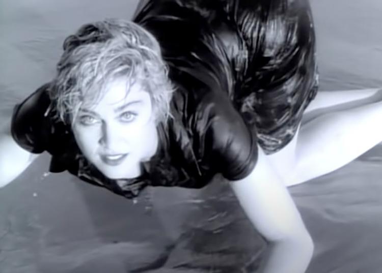 143742 Дочь Мадонны Лурдес Леон повторила сцену из знаменитого клипа мамы