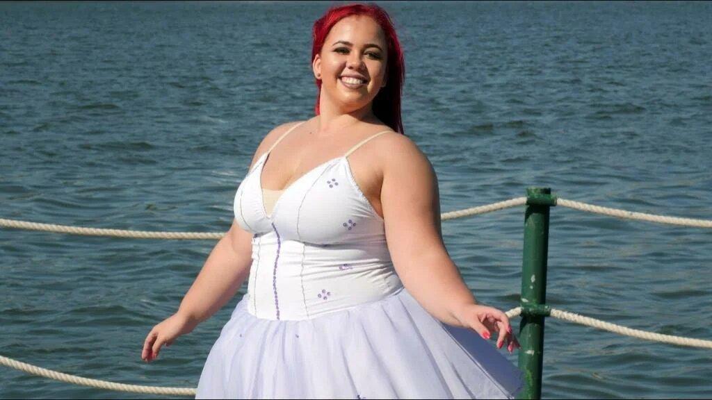 143220 Известная балерина, которая весит больше 100 кг, разрушает все стереотипы