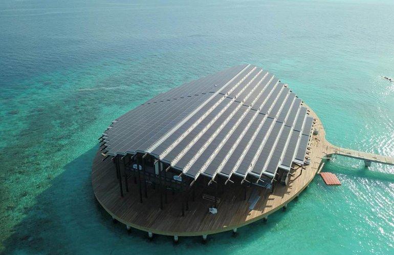142519 Кудаду - впечатляющий мальдивский курорт на солнечной энергии