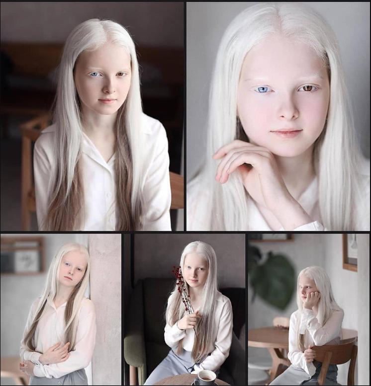 11-летняя Амина имеет неземную внешность, ей пророчат карьеру модели