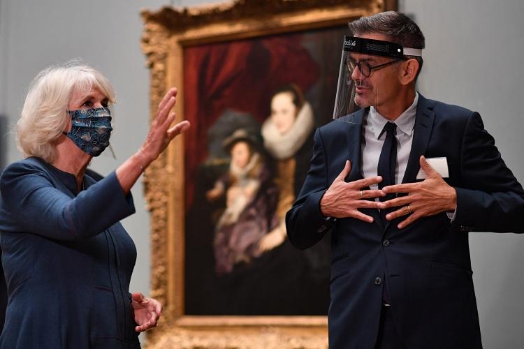Камилла в Национальной галерее
