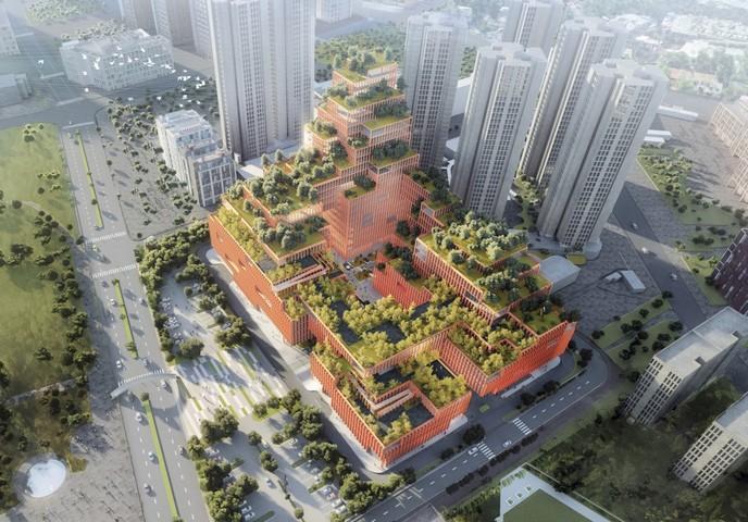144427 Уникальный реабилитационный центр для инвалидов строится в Китае