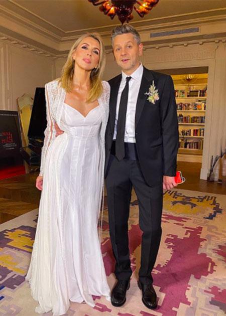 Как прошла свадьба Светланы Бондарчук и Сергея Харченко: три платья невесты, подарок от Филиппа Киркорова и стильный торт