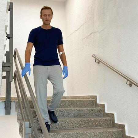 """152714 Алексей Навальный о восстановлении после отравления: """"Недавно я не понимал, как разговаривать"""""""