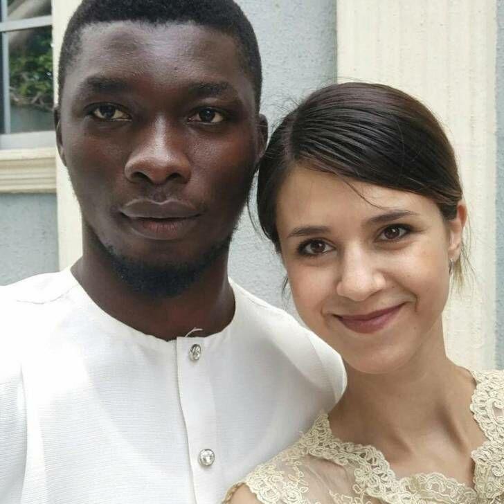 152865 Из Ижевска в Нигерию: русская девушка вышла замуж за африканского принца. Вот как выглядят их детки