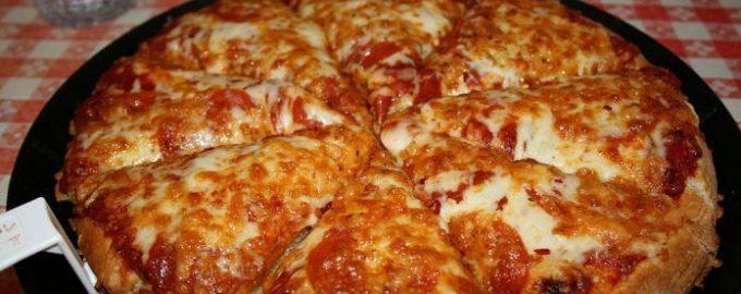 161522 Самая быстрая пицца на сковороде за 10 минут
