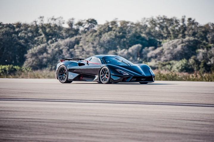 163159 SSC Tuatara - самый быстрый серийный автомобиль в мире