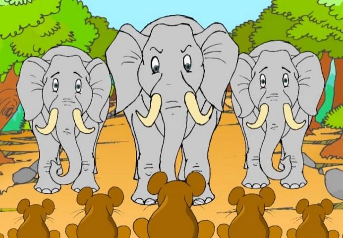 165845 Действительно ли слоны боятся мышей?