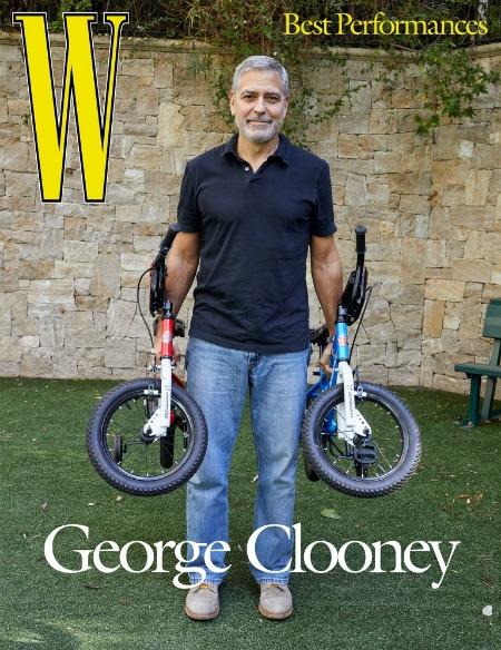 """166135 Джордж Клуни честно рассказал о самоизоляции с женой Амаль и близнецами: """"Она бы убила меня"""""""
