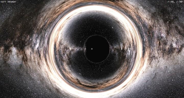 167878 Обнаружена беспокойная черная дыра, таинственно блуждающая в космосе