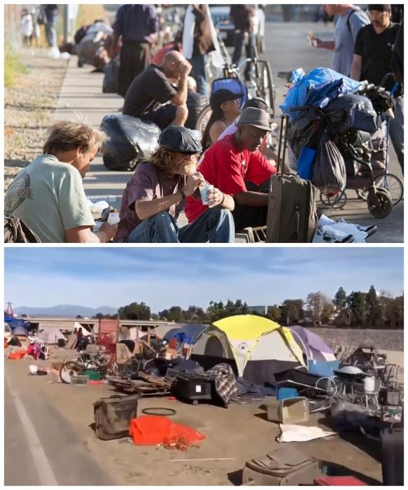 168059 В Америке для бездомных есть дома, в которых можно жить бесплатно, но с определенным условием